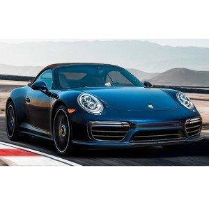 Porsche 991 driving in Monteblanco 3,9km (Huelva)