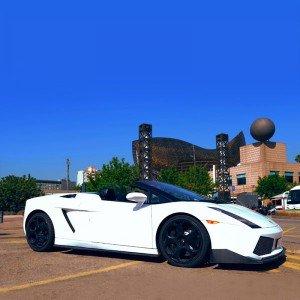 Lamborghini Driving in Barcelona City (Barcelona)