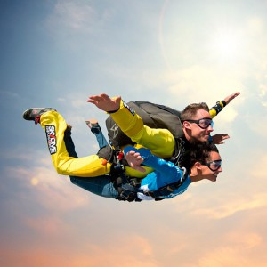 Skydiving in Empuriabrava (Girona)