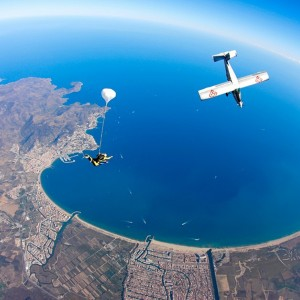Skydiving in Empuriabrava (Girona)