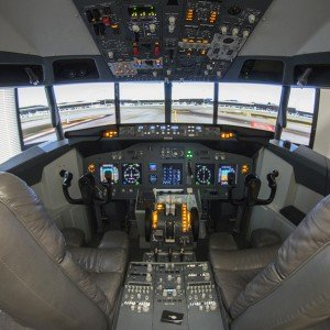 Flight simulator Boeing 737-800NG in Igualada (Barcelona)
