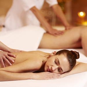 Deluxe Thai spa treatment for two in Barcelona