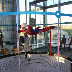 Indoor skydiving in Las Rozas (Madrid)