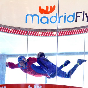 Indoor skydiving for two in Las Rozas (Madrid)