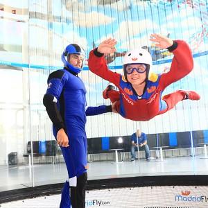 Indoor skydiving for kids in Las Rozas (Madrid)