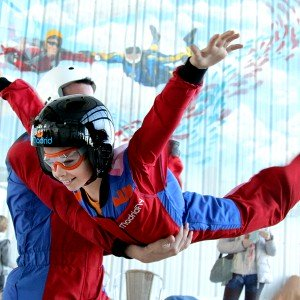Indoor skydiving for kids in Las Rozas (Madrid)