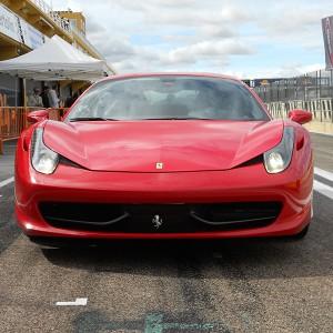 VIP Ferrari 458 Italia in El Jarama 3,8km (Madrid)