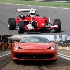 VIP Ferrari + Formula in El Jarama 3,8km (Madrid)