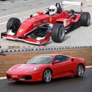VIP Ferrari + Fórmula in Monteblanco 3,9km (Huelva)