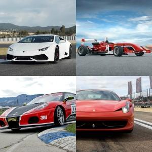 VIP Lamborghini + 2 Ferraris + Formula in Los Arcos 3,9km (Navarra)