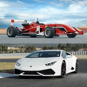 VIP Lamborghini + Formula in Los Arcos 3,9km (Navarra)