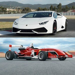 VIP Lamborghini + Formula in Montmeló Nacional 3km (Barcelona)