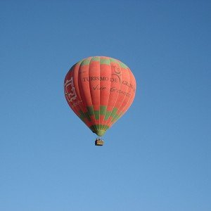 Hot air balloon flight in Arcos de la Frontera (Cádiz)