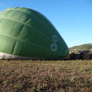 Hot air balloon flight in Barcelona