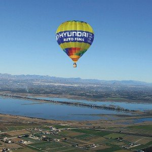 Hot air balloon flight in Catral (Alicante)