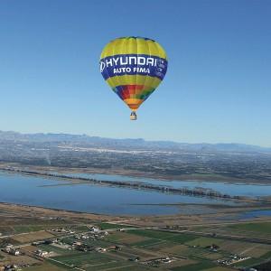 Hot air balloon flight in Catral (Alicante)