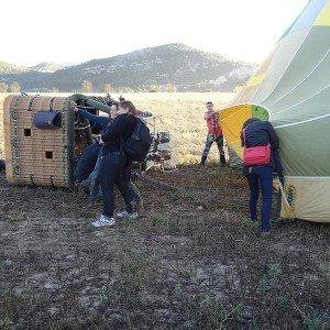 Hot air balloon flight in Girona