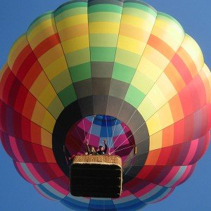 Hot air balloon flight in Villanueva de la Cañada (Madrid)