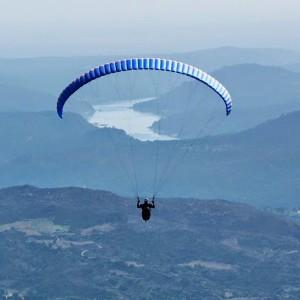 Paragliding in Ávila