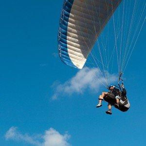 Paragliding in Berga (Barcelona)