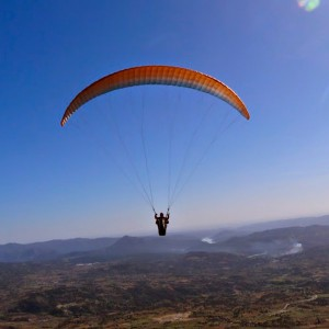 Paragliding in Madrid