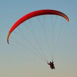 Paragliding in Madrid