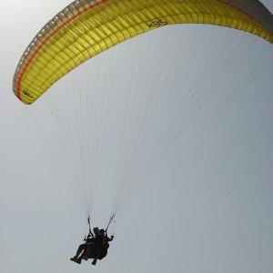 Paragliding in Organyà (Lleida)