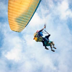 Paragliding in Vitoria-Gasteiz (Álava)