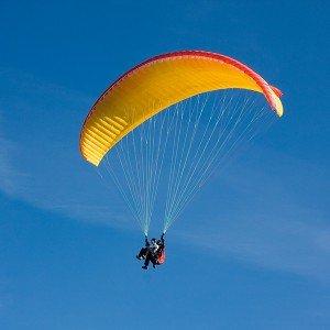 Paragliding in Zarautz (Guipuzcoa)