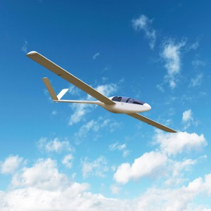 Glider flight in La Cerdanya (Girona)