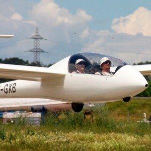 Glider flight in Igualada (Barcelona)