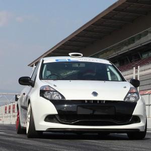 Copilotaje Extremo Renault Clio Cup en circuito en Cheste 3,1km (Valencia) - 1 vuelta