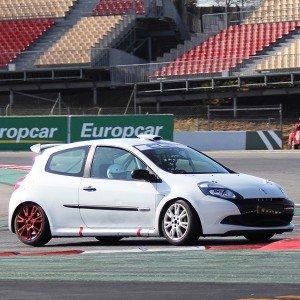 Copilotaje Extremo Renault Clio Cup en circuito en Los Arcos 3,9km (Navarra) - 1 vuelta