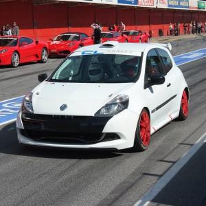 Copilotaje Extremo Renault Clio Cup en circuito en Monteblanco 2,7km (Huelva) - 1 vuelta
