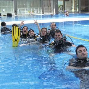 Bautismo de buceo en Las Rozas (Madrid)