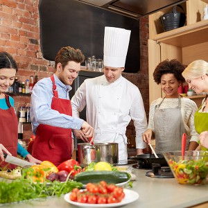Clase de cocina - Cocinas del mundo en Madrid