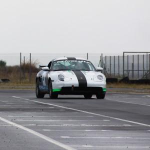 Copilotaje Extremo Drift de Porsche en circuito en Brunete 1,6km (Madrid)