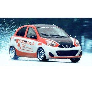Conducir en circuito de nieve en Circuit de Nieve Grandvalira (Andorra)