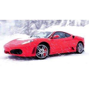 Conducir Ferrari en circuito de nieve en Circuit de Nieve Grandvalira (Andorra)