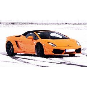 Conducir Lamborghini en circuito de nieve en Circuit de Nieve Grandvalira (Andorra)