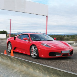 Conducir un Ferrari F430 en circuito en Calafat 2,6km (Tarragona)