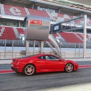 Conducir un Ferrari F430 F1 en circuito en Montmeló Escuela 1,7km (Barcelona)