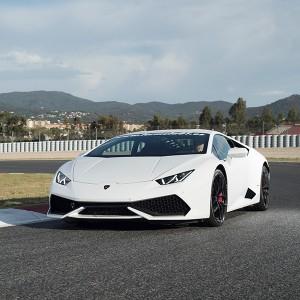 Conducir un Lamborghini Huracán en circuito en Cheste 3,1km (Valencia)
