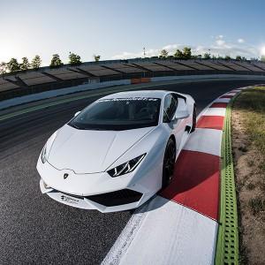 Conducir un Lamborghini Huracán en circuito en Los Arcos 3,9km (Navarra)