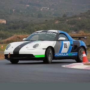 Conducir un Porsche Boxster Cup en circuito en Calafat 2,6km (Tarragona)