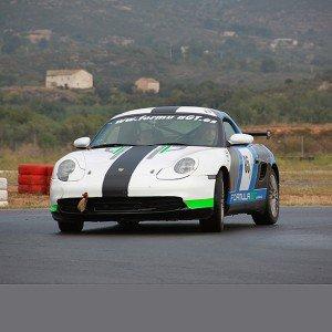 Conducir un Porsche Boxster Cup en circuito en Campillos 1,6km (Málaga)