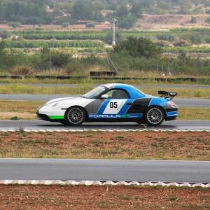 Conducir un Porsche Boxster Cup en circuito en Chiva 1,6km (Valencia)