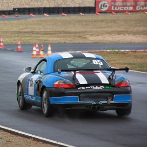 Conducir un Porsche Boxster Cup en circuito en El Jarama 3,8km (Madrid)