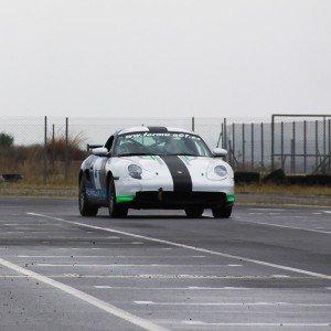 Conducir un Porsche Boxster Cup en circuito en Kotarr 1,8km (Burgos)
