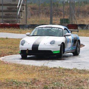 Conducir un Porsche Boxster Cup en circuito en Los Arcos 3,9km (Navarra)